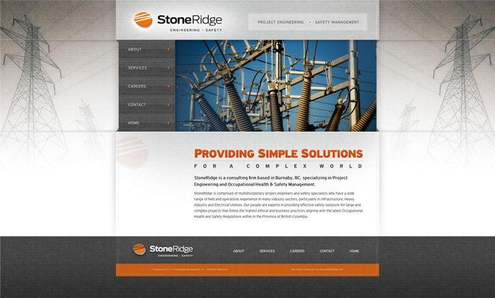 Vancouver Engineering Web Design