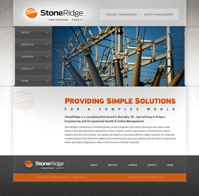 Vancouver Engineering Web Design