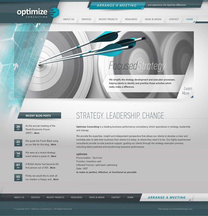 Custom Corporate WordPress Design