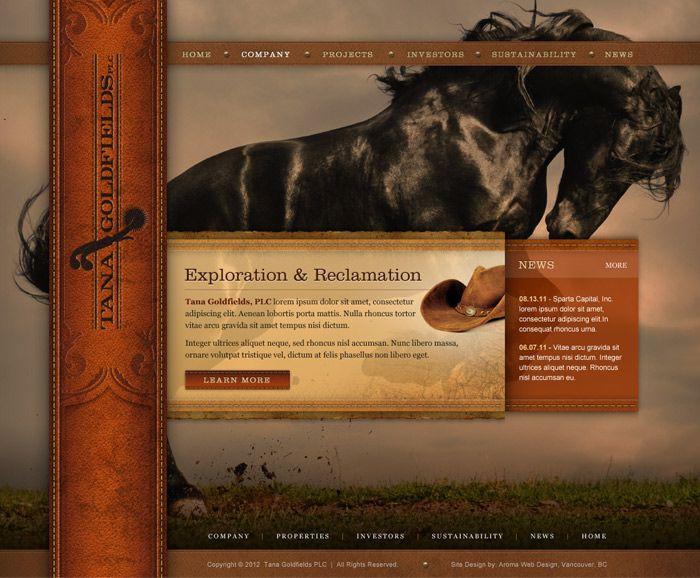 Mining Project Web Design