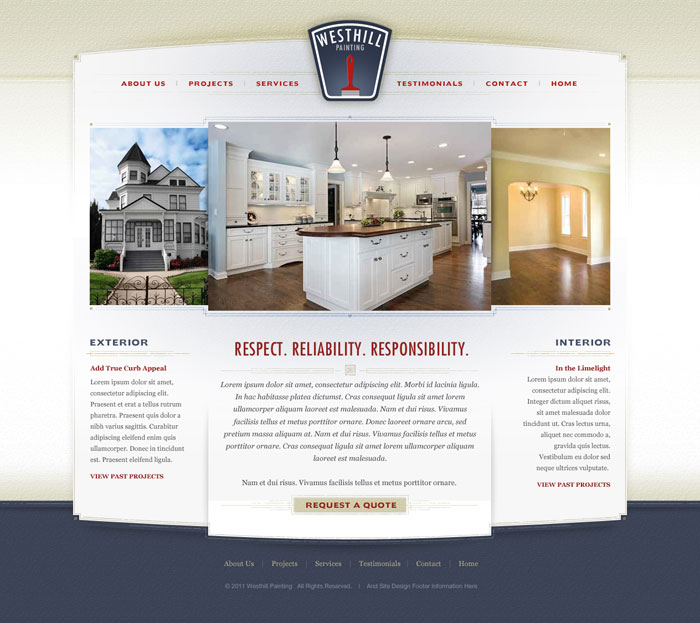 Vancouver House Painting Website