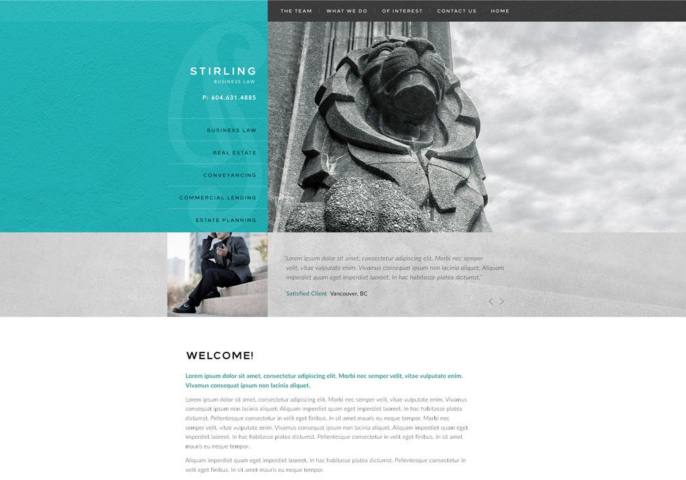 Vancouver website branding