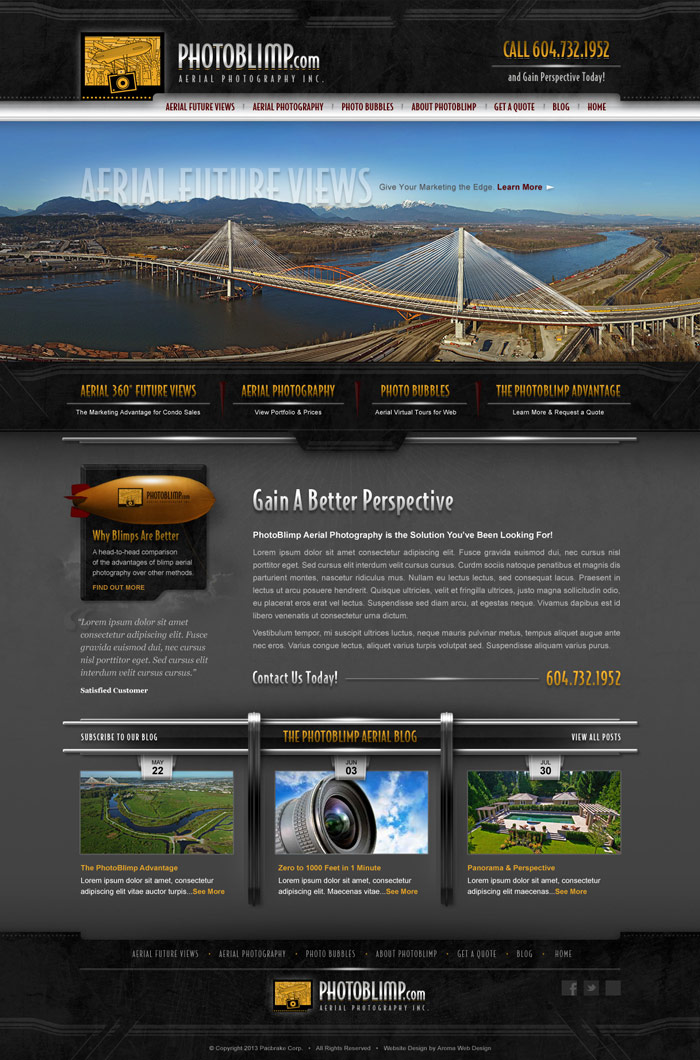 Creative Commercial WordPress Design