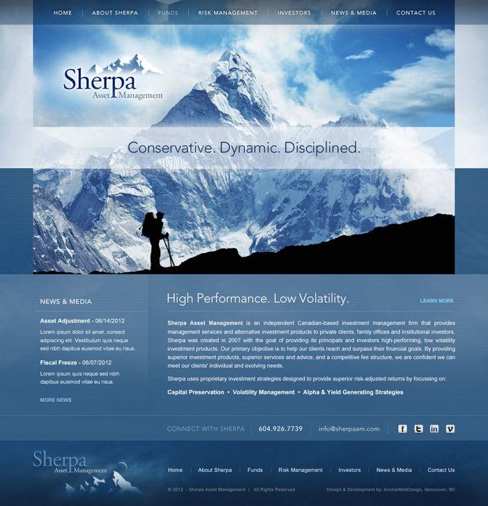 Vancouver WordPress Financial Website