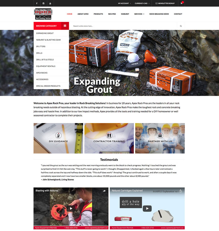 Professional E-Commerce Web Design