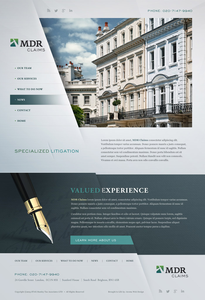 Accountant Web Design
