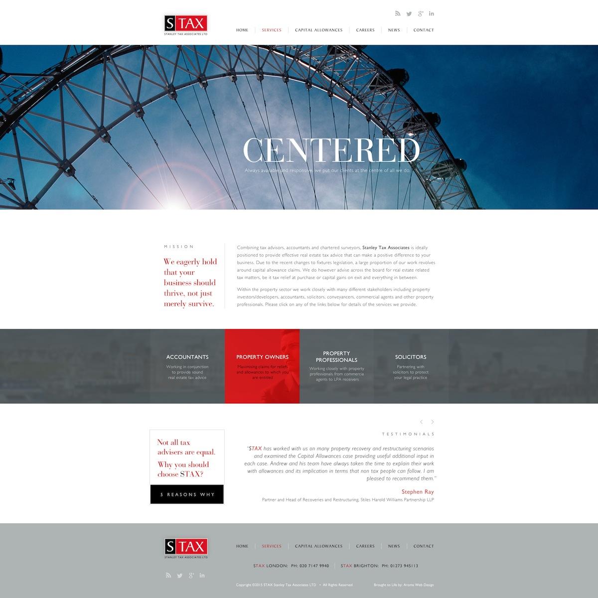 Professional Web Design | Financial Web Design | Corporate Web ...