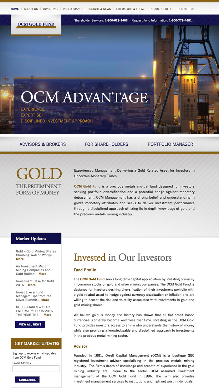 Gold Fund Investment Firm