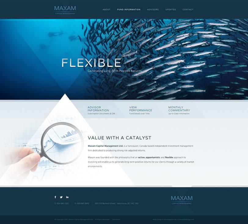 Vancouver Capital Company Web Design