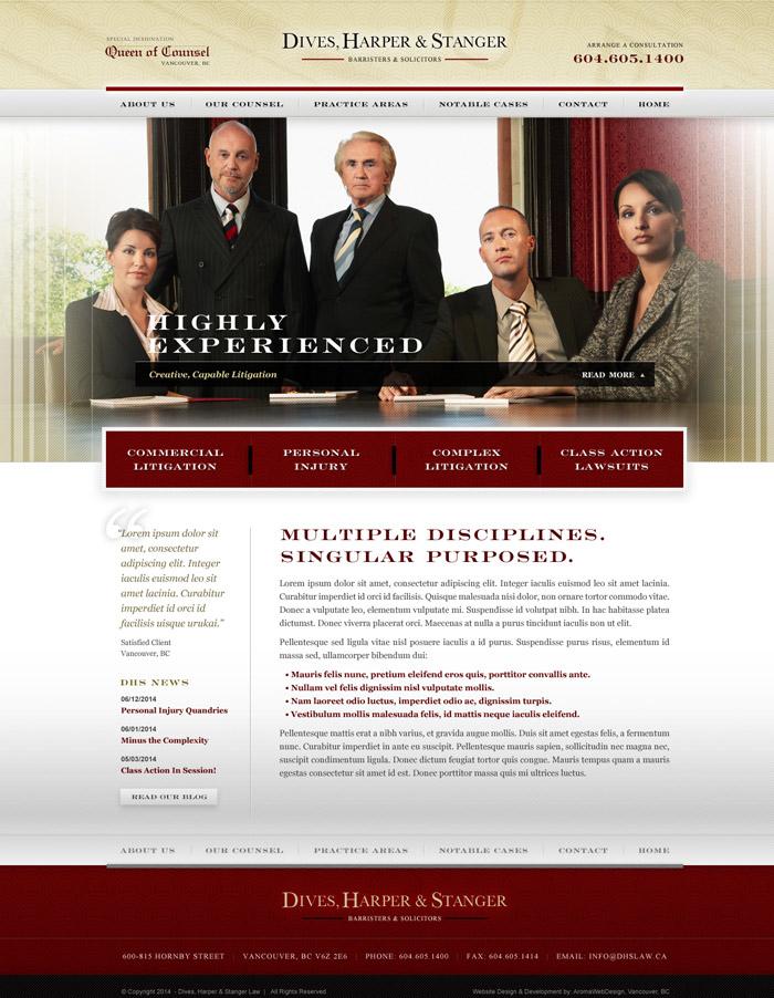 Professional Legal Website Design