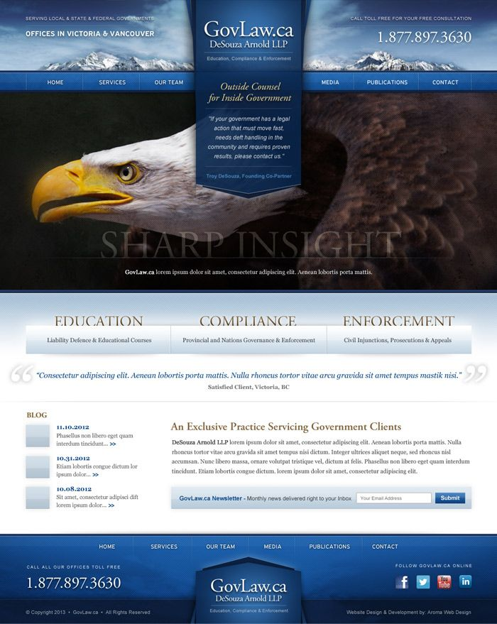 Law Firm Marketing & WordPress Design