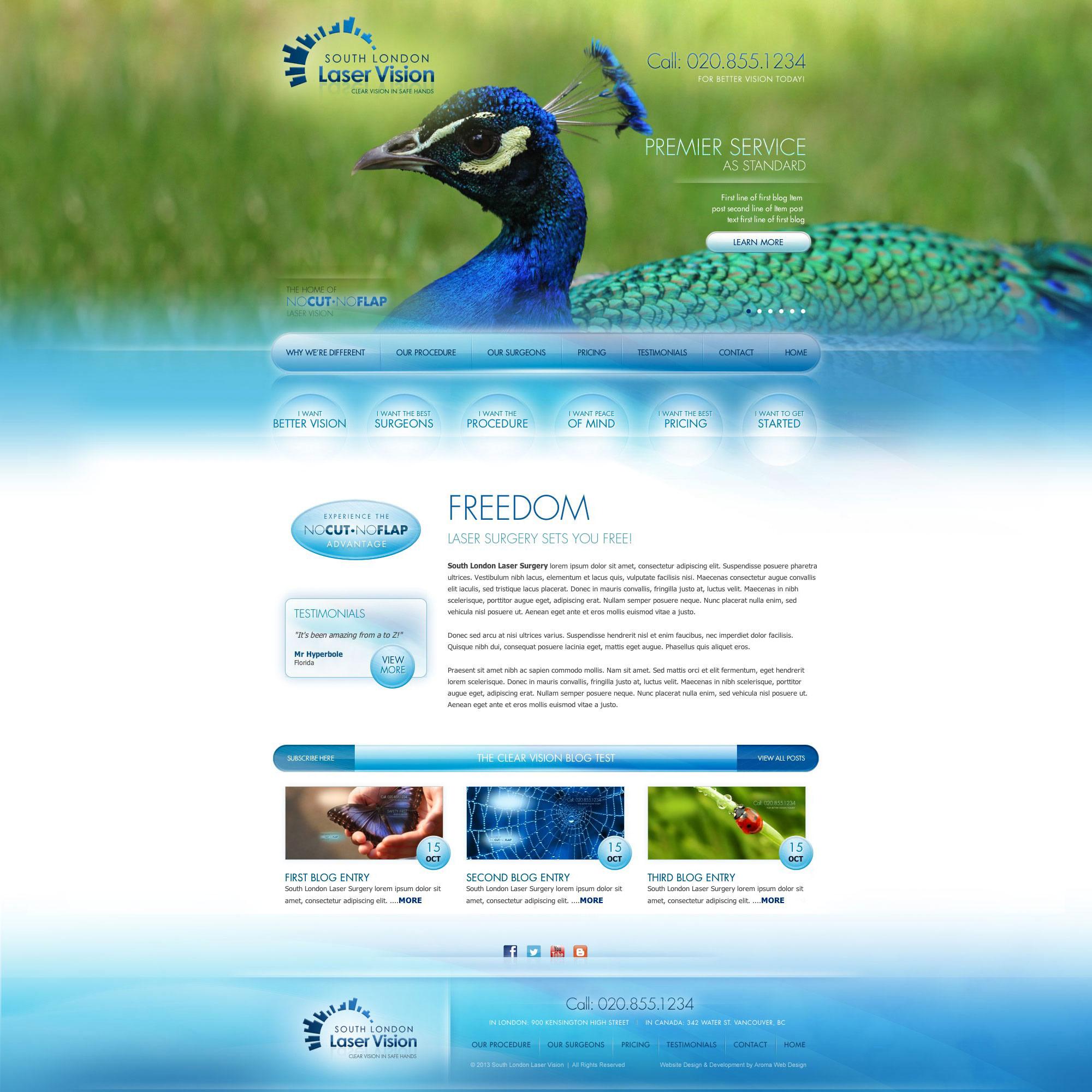Medical Web Design Healthcare Web Design Medical Web Designer Aroma Web Design