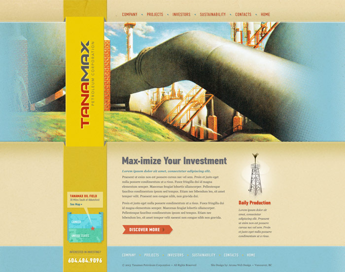 Mining Corporation Website