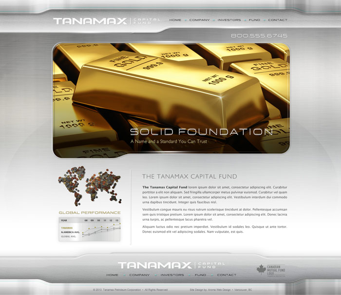 Mining Capital Fund Website