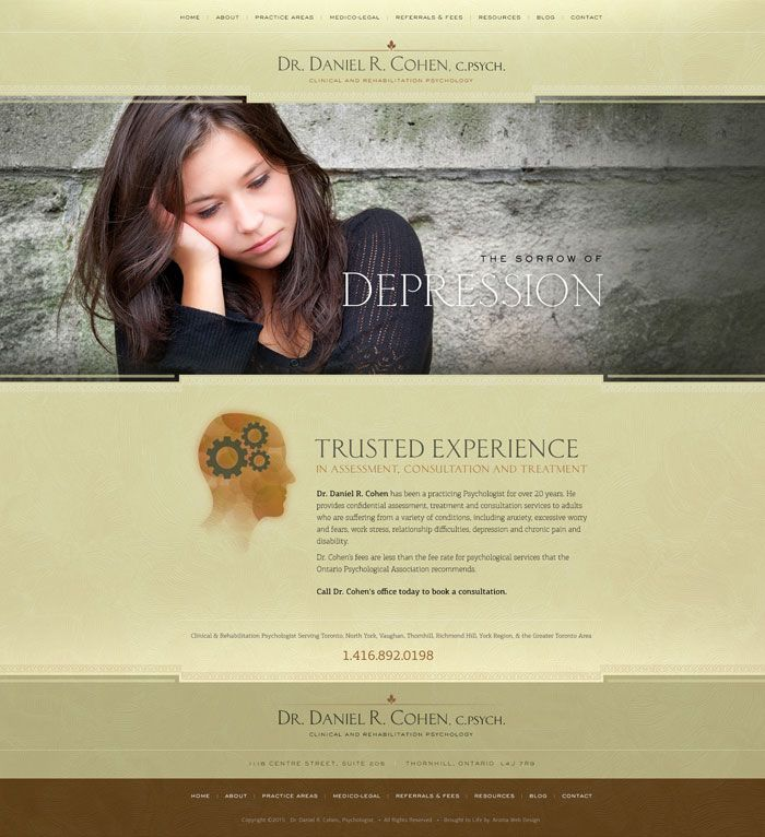 Psychologist Website