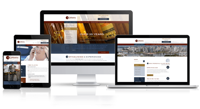 Responsive Vancouver Law Firm Design